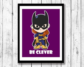 Mini-Motivational Wall Art, kids room art, geek art