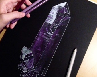 Original Color Pencil Crystal