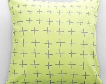 Crosses print Cushion Cover
