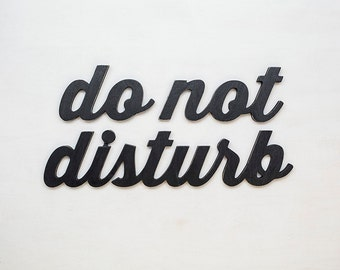 Do not disturb sign - office signs - do not disturb signs for office - do not disturb signs for home - office decor - office wood sign