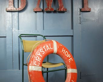 Reclaimed Vintage Lifebuoy Life Ring
