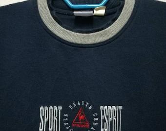 Vintage Le Coq Sportif Small Logo Sweater Sweatshirt