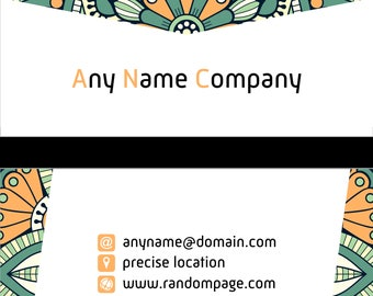 Decorative Designed Customized and Printed Full Color both Sides Raised Ink on Front of Card