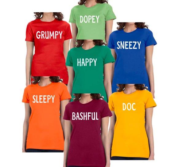 Good 7 Dwarfs T Shirt Dwarf Halloween Costume Menu0027s