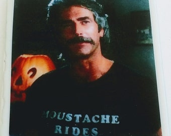 Sam Elliott coaster actor & cultural icon moustache rides Tombstone Mask Wild Bill Hickok Buffalo Girls The Big Lebowski cowboy Gettysburg
