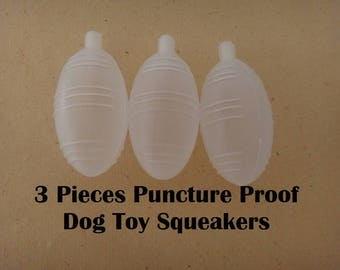 3 Squeakers - Puncture-proof Dog Toy Squeaker - Squeaker Toy Replacements - Baby Toy Squeakers