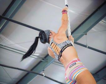 Black Stripe | Yoga Headband | Workout Headband | Fitness Headband | Running Headband | Wide Headband | Pilates Headband | Barre Headband