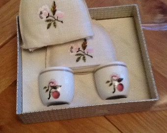 Vintage Egg Cups and Cosies