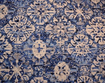 Craft Culture Indigo Waverly Fabric