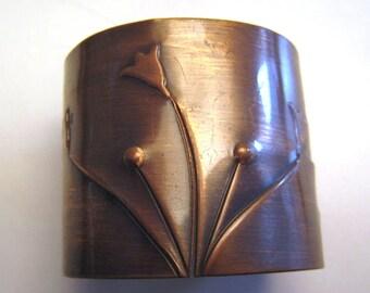 Rebajes Vintage Copper wrist bracelet
