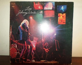 Vintage 1971 Vinyl LP Record Live Johnny Winter And Excellent Condition 11673