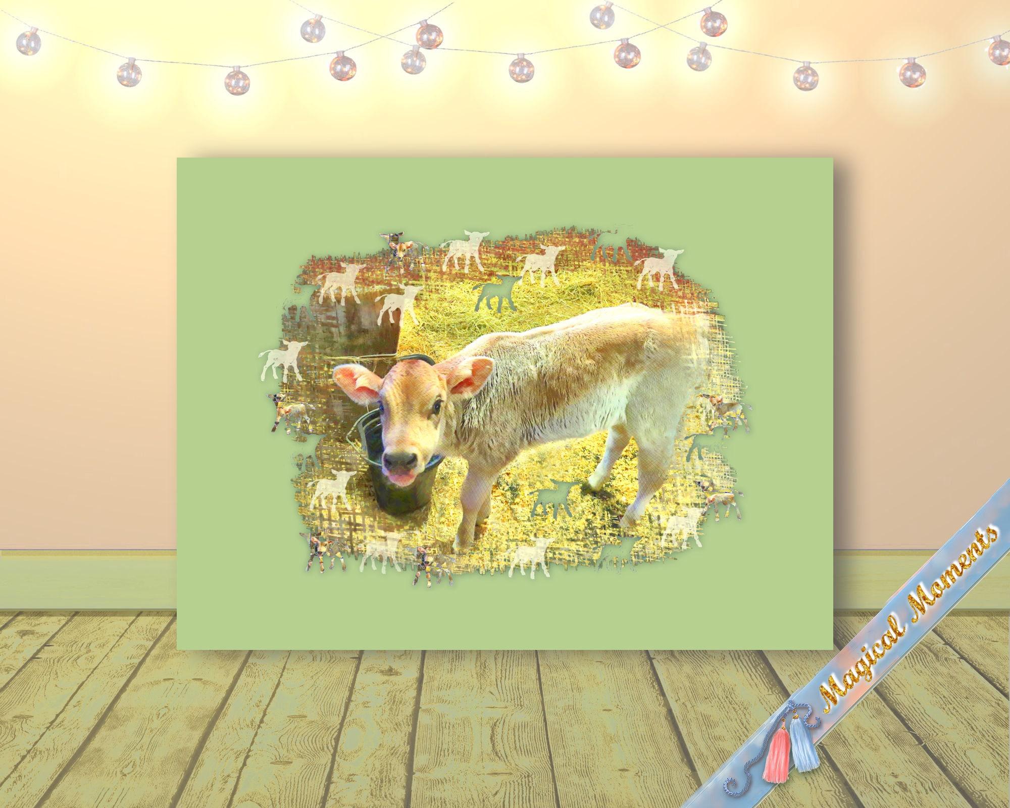 Baby Boy Nursery Decor Custom Color Wall Art Print Baby