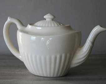 English Teapot / English Pottery by Gibsons / Staffordshire / England