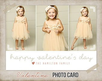 Valentine Card - Photo Valentine - Digital Valentine Card - Printable - Photo Card Custom Personalized for You