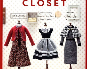 Doll's Closet - Japanese Craft Book