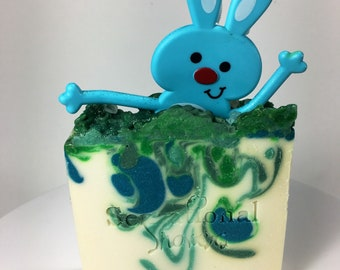 Funny Bunny Vegan Artisan Soap Bar 5oz