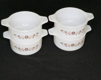 Vintage Dynaware Mini Casserole Dishes