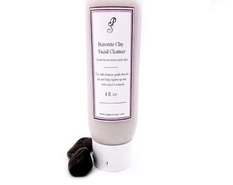 Benonite Clay Botanical Facial Cleanser 4 oz Skin Care, Cleanser, Facial Care