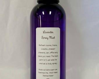 Body Linen Spray Mist 4 ounce bottle you choose scent