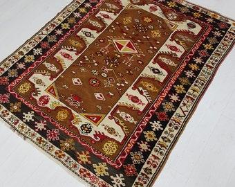 Old Turkish Rug, Oushak Rug, Area Rug, Fine Quality Oriental Rug, Anatolian Rug, Home Decor, Turkish Oushak Rug, Vintage Oushak Rug, Vintage