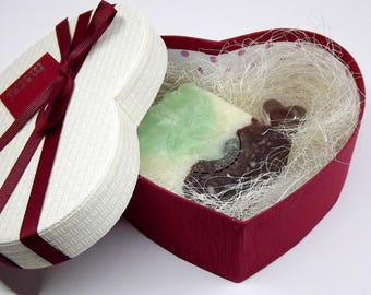 Soap Lip balm Chocolate Gift Set Valentine's Day