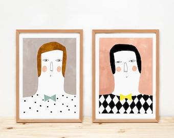 Emilio y Ramón - PRINTS - 8 x 11.5 - A4