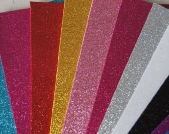Goma Eva/Foami Glitter