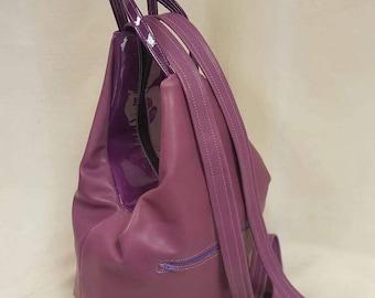 Soft Leather Rucksack