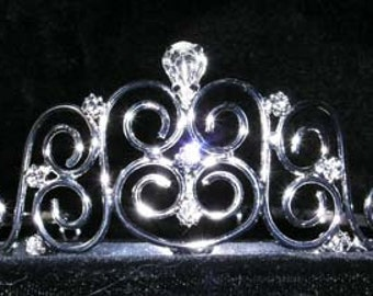 Style # 15262 - Fancy Gate Wire Tiaras