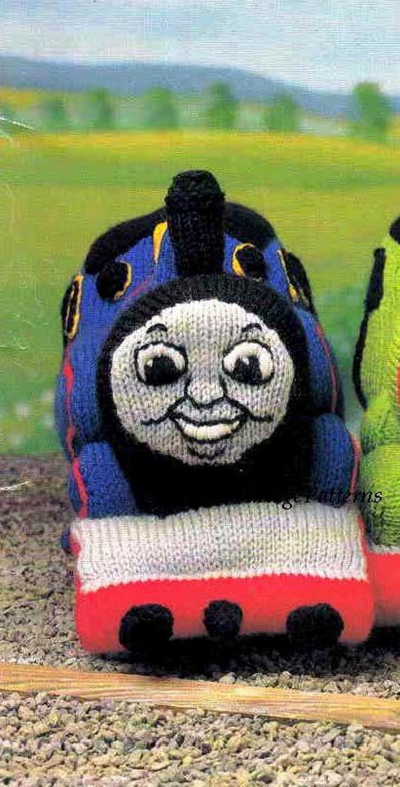 Thomas Toy Knitting Pattern Thomas The Tank Engine Soft