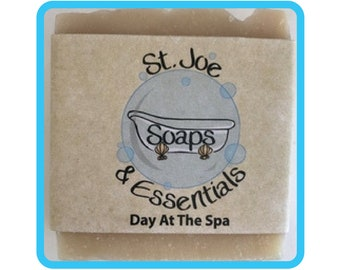 Day At The Spa Soap, Handmade Soap, All Natural Soap, Organic Saponified Olive Oil, Coconut Oil, Shea Butter, Fragrance Oil