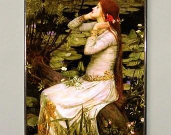 John William Waterhouse - Ophelia (1894), Stained glass