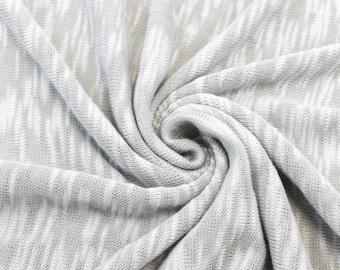 Gray Soft Sweater Knit Fabric - 1 Yard Style 6264