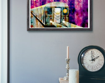 The F train 8x10