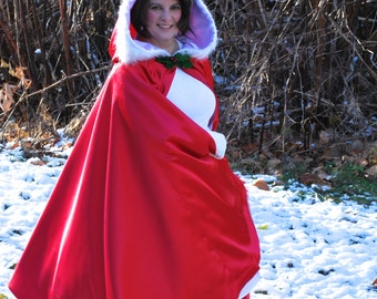 Mrs Claus Costume, Cape Only