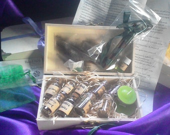 Hedge Witch Apothecary Herbs And More Box Set - choice of 3. Pagan, Wicca, Witchcraft