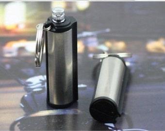Refillable Permanent Match Box Lighter