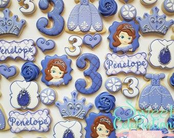 Sofia the 1st Cookies