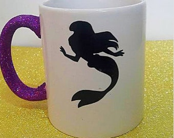 Disney Princess The Little Mermaid Glitter Mug