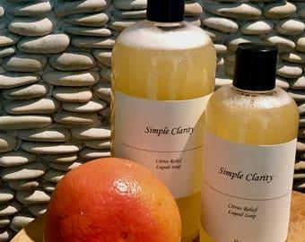 Citrus Relief Liquid Soap