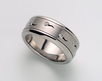Men engagement ring Etsy
