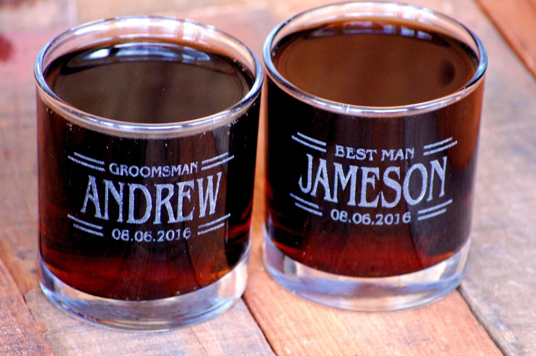 Vasos De Whisky Vaso Bajo Grabado Vidrio Whisky Cristal # Muebles Para Guardar Whisky