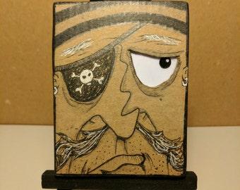 Cardboard Art - Mini Kreeps - One Eyed Eddie