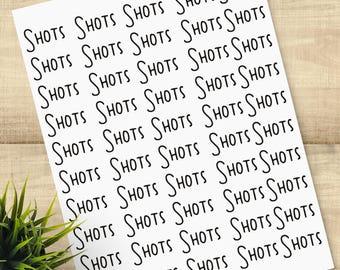 Shots Shots Shots congratulations, happy birthday, or any occasion; blank inside