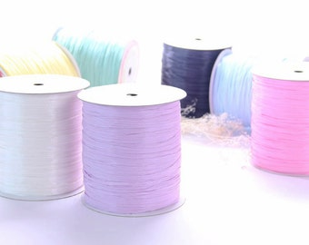 Raffia Yarn Available in 53 colors / 250 m / Yarns for Strawhat / Raffia Ribbon / Straw Ribbon / Natural Raffia