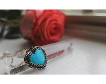 Kingman Heart necklace