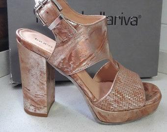 Laura Bellariva Sandal. Made in Italy.