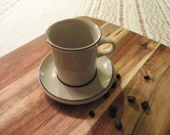 Arabia, Finland, FENNICA, coffee cup and saucer, design Ulla Procope
