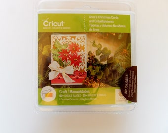 Cricit Cartridge New Anna's Christmas Cards and Embellishments