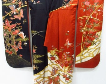 Japanese Silk Furisode